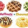 【クリスピー・クリーム・ドーナツ】新食感ドーナツ「ワフナッツ/シューナッツ」が新発売♡
